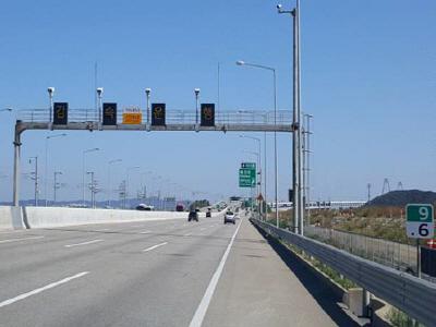 위험 터널 구간에 구간단속장비 설치 ..
